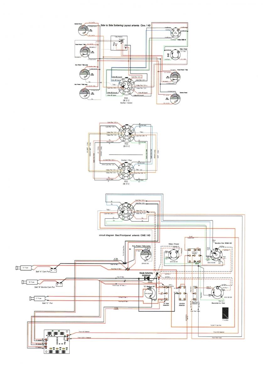 Артемис - Схема подключений
